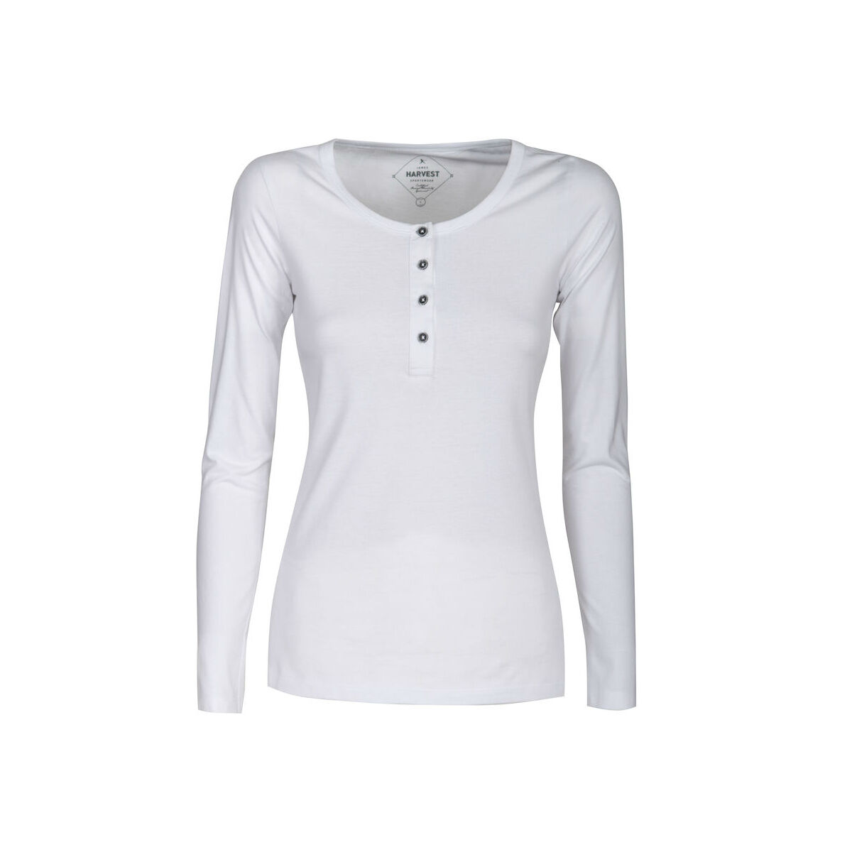 Harvest Long Sleeved Sweater (Ladies White)