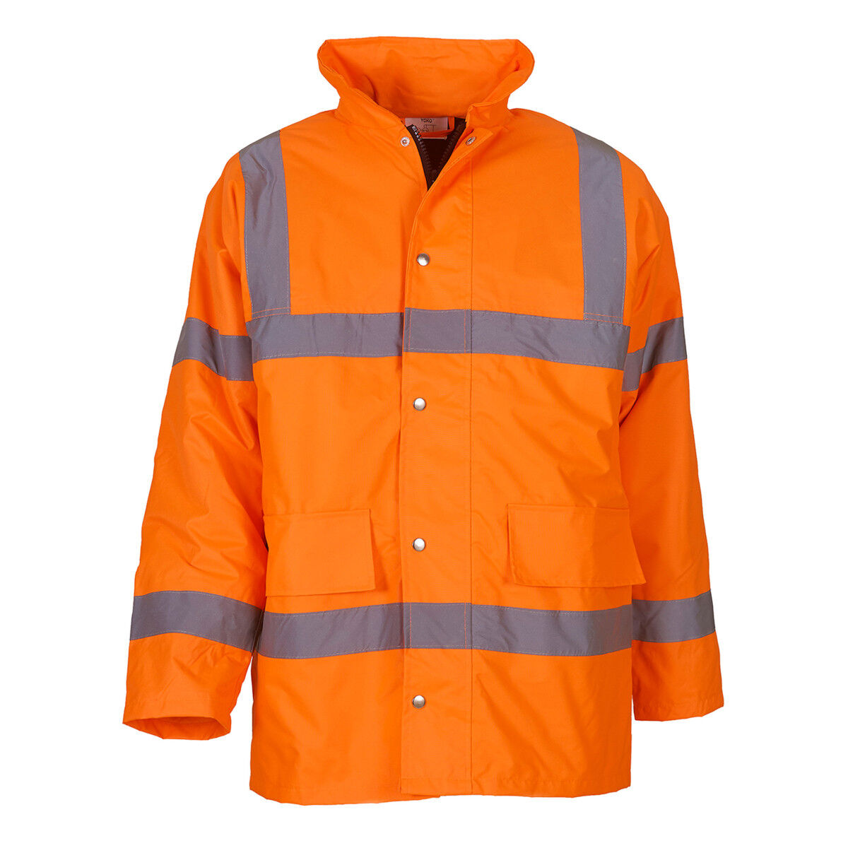 High Vis Road Safety Jacket Orange