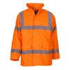 High Vis Road Safety Jacket Orange