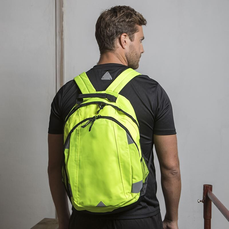 High Visibility Safety Backpack