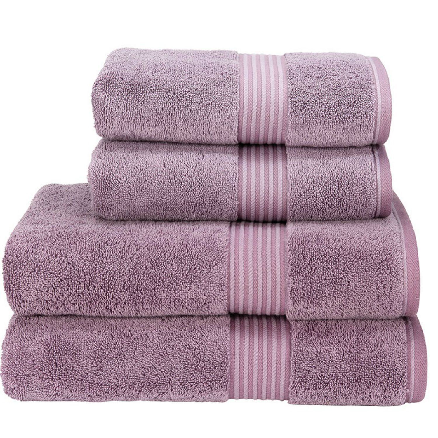 Christy Hotel Towels (Damson)