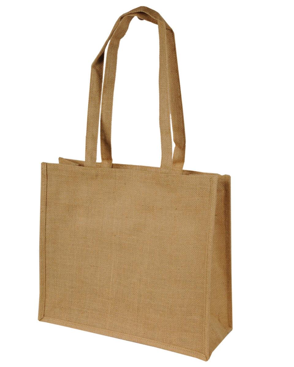 Jute Tote Bags (Long Handles)