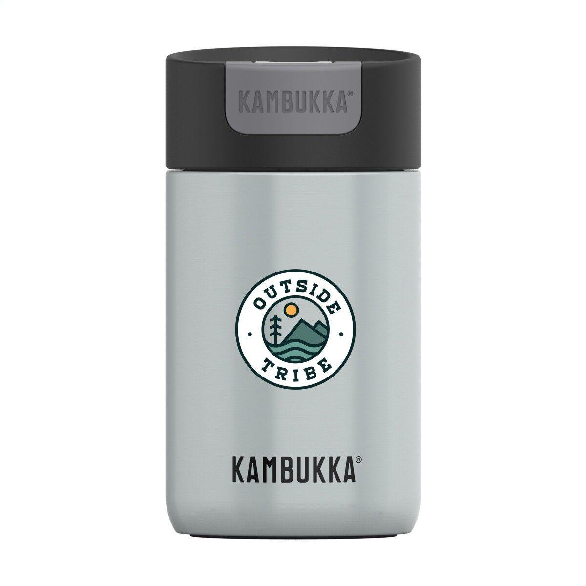 Kambukka Handy Thermal Bottle in Light Grey