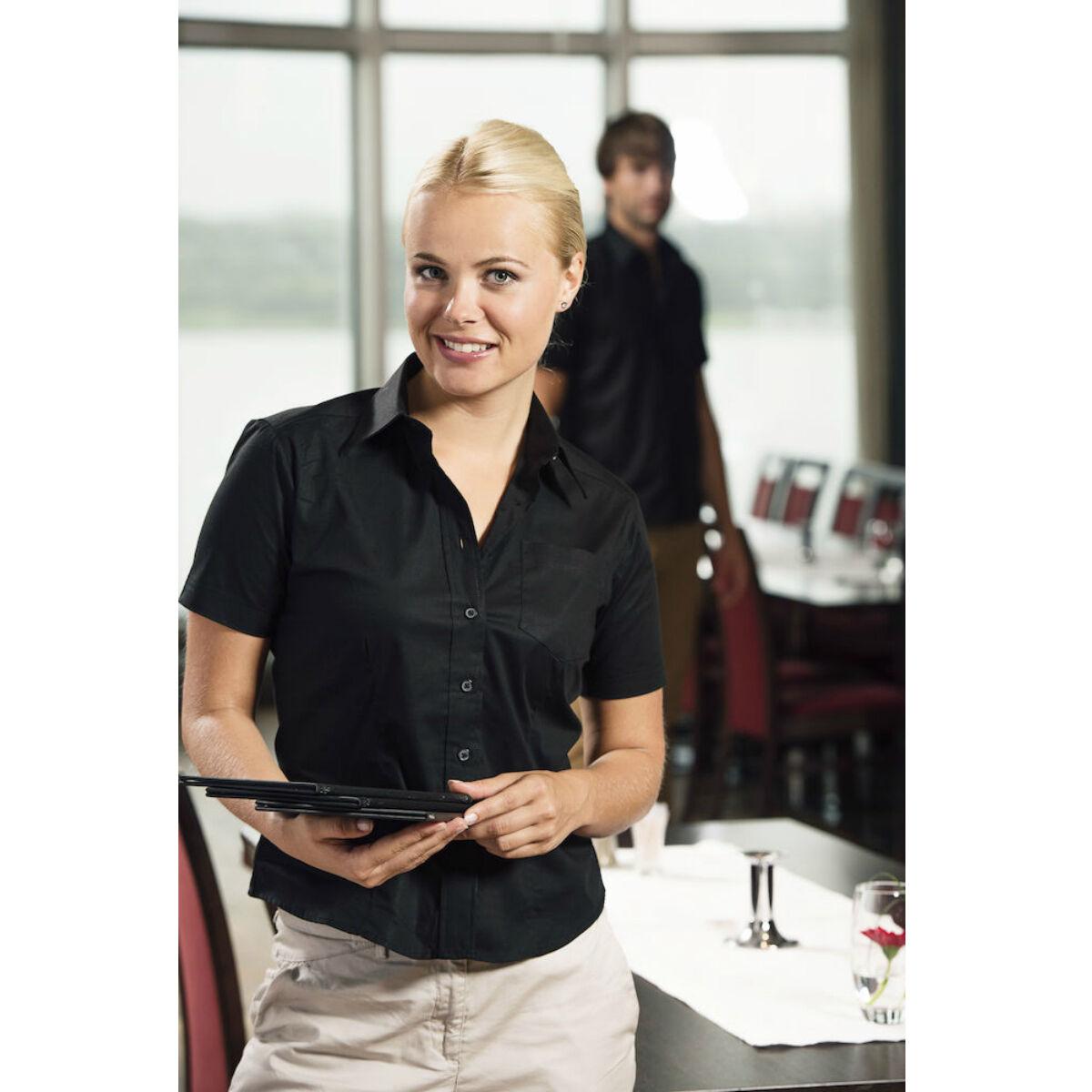 Clique Short Sleeved Shirt (Ladies' Black)