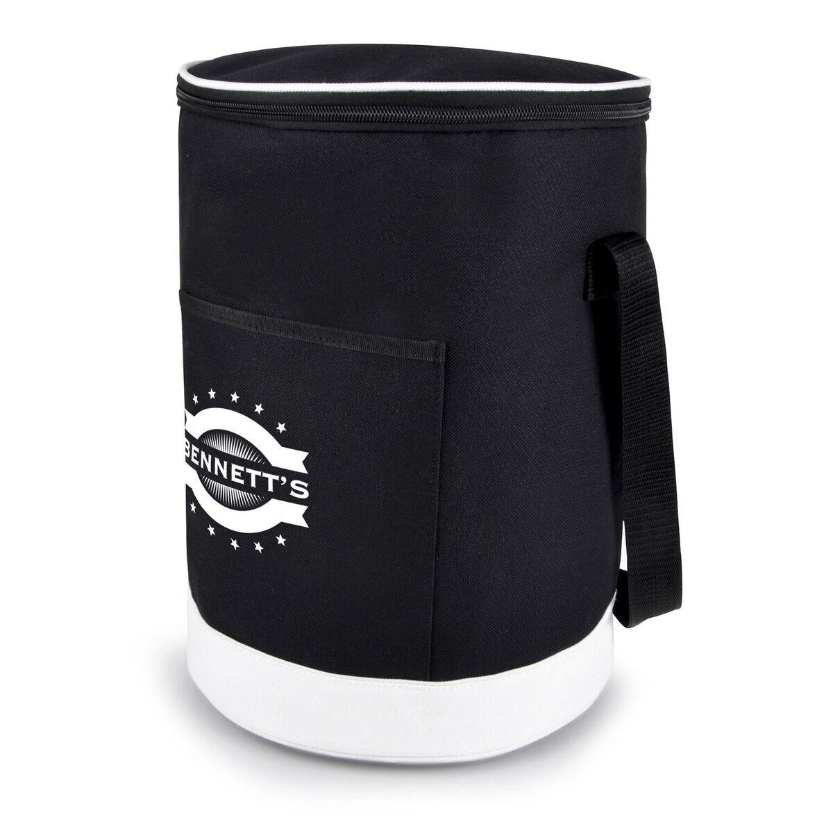 Cylinder Cooler Bag with Shoulder Strap