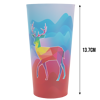 Full colour large translucent cup