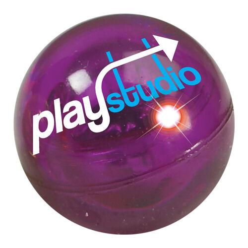 Flashing Bouncy Balls Purple