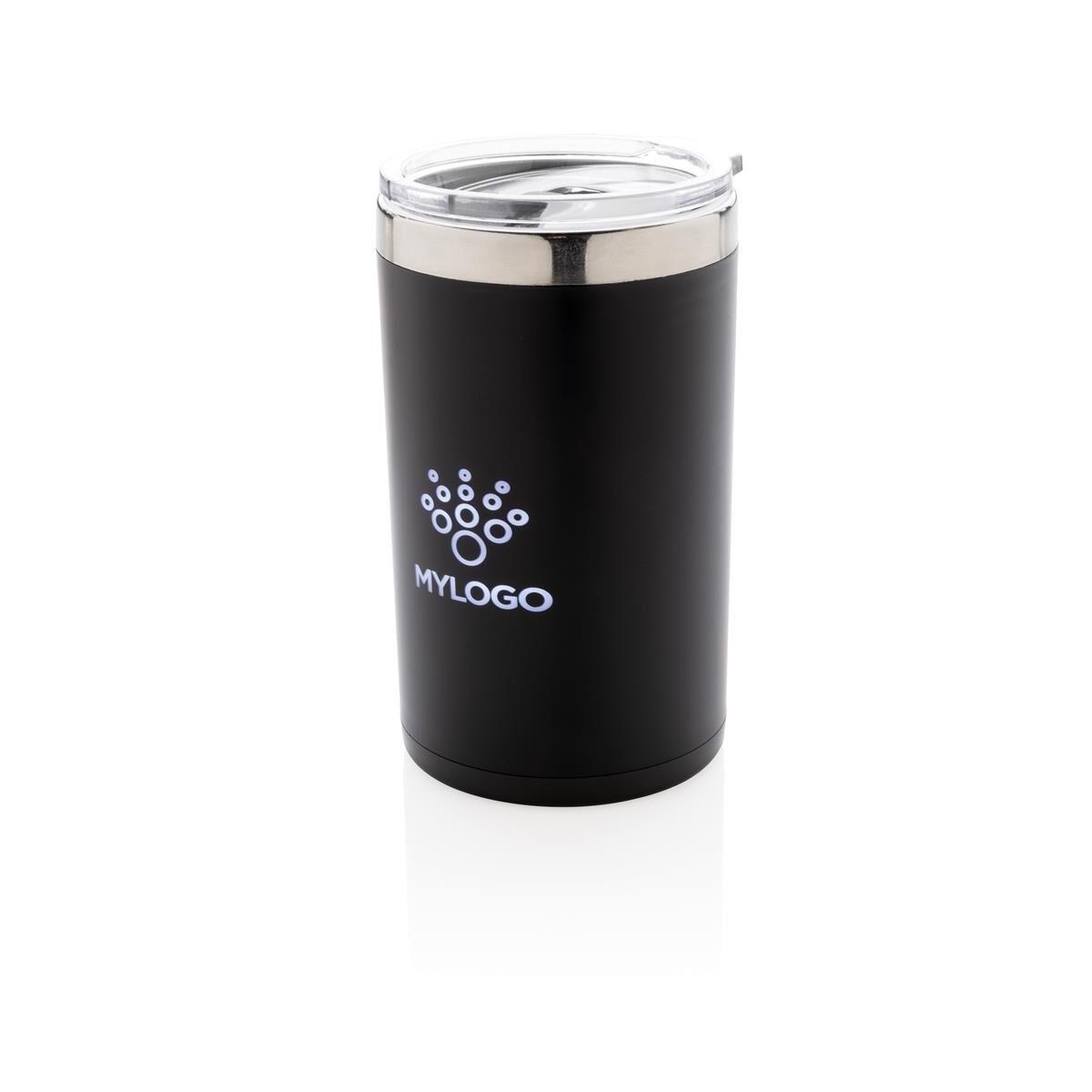 Light up logo coffee mug