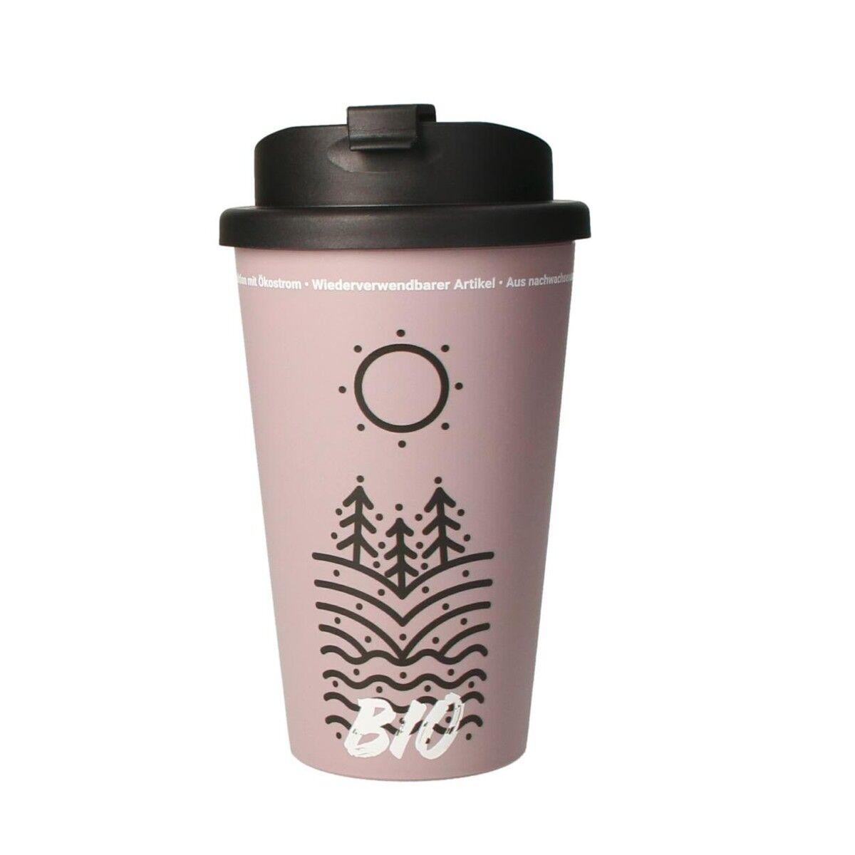 Bioplastic Spill Proof Takeaway Cup Lilac