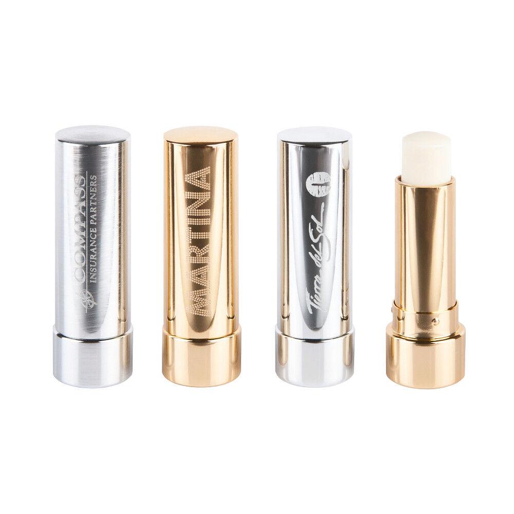Lip Balm In Elegant Metal Casing