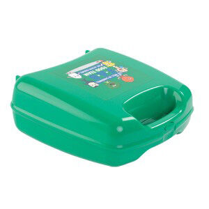 Lunch Box with Integrated Handle