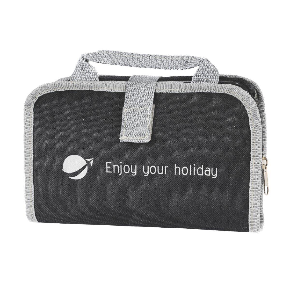 Enterprise Cosmetics Travel Bag Black