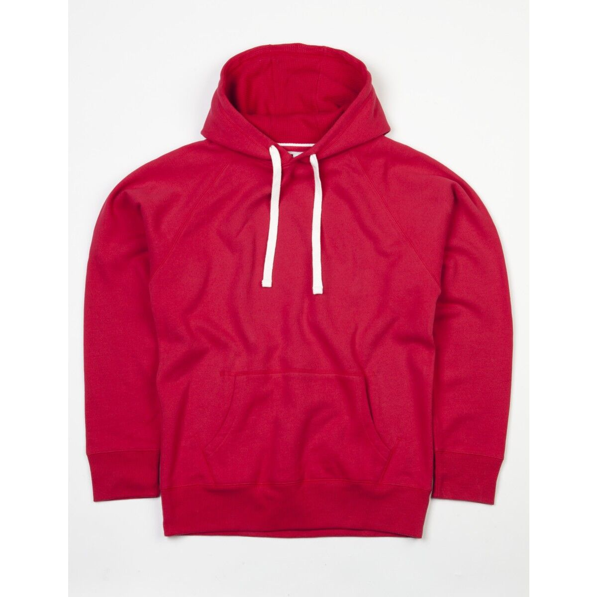 Mantis Mens Superstar Hoodie - Warm Red
