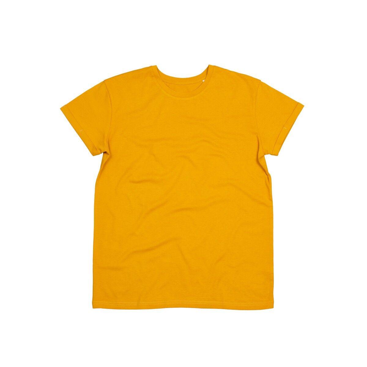 Mantis Roll Sleeve T Shirt -  Mustard