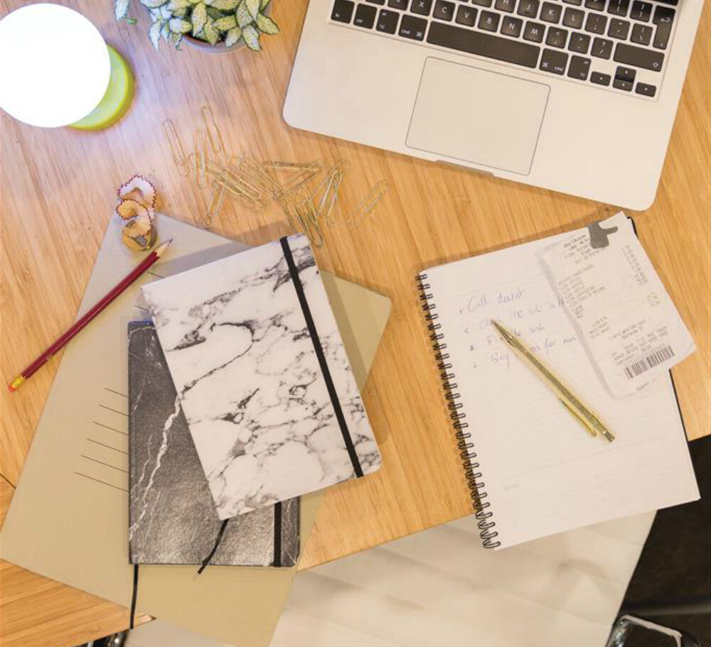 Marble Style A5 Notebook