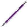 Budget Metal Push Button Pen in Purple
