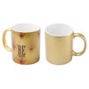 Ceramic Mugs With Metallic Finish
