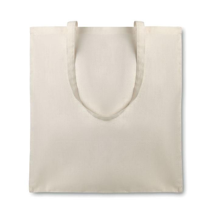 Organic Cotton Shopper with Long Handles