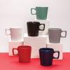 Modern coffee mug with matt finish (range)