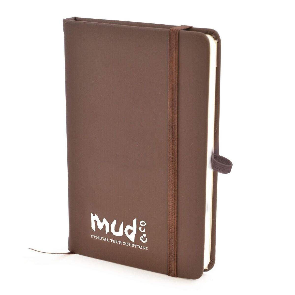 A6 Notebook with Pen Loop (Brown)