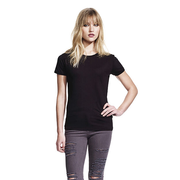Ladies Continental Brand Organic Bamboo T-shirts (crew)