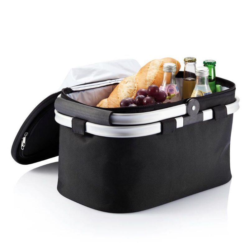 Foldable Picnic Basket with Cooler