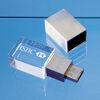 Engraved 3D Crystal USB Drives
