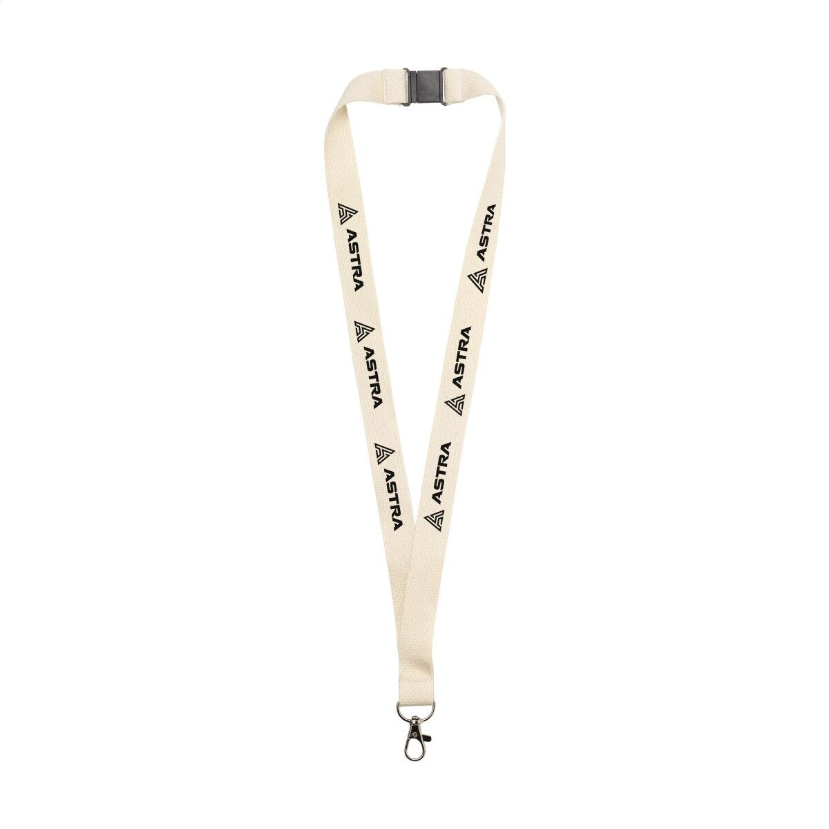 Organic Cotton Lanyard printed both sides