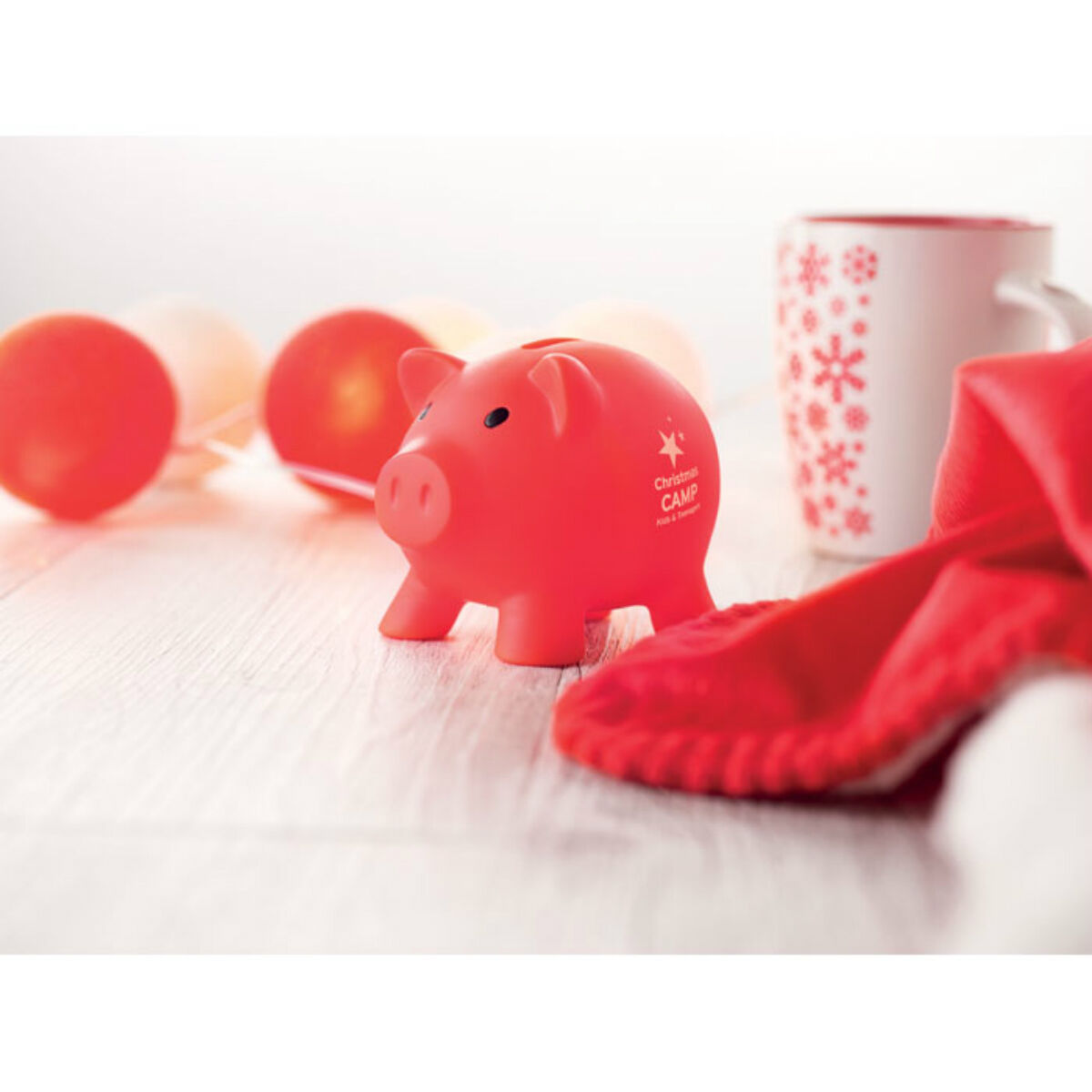 Piggy Banks (Red)