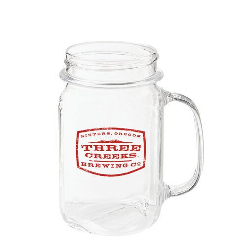 Plastic Mason Jar Drinking Glasses