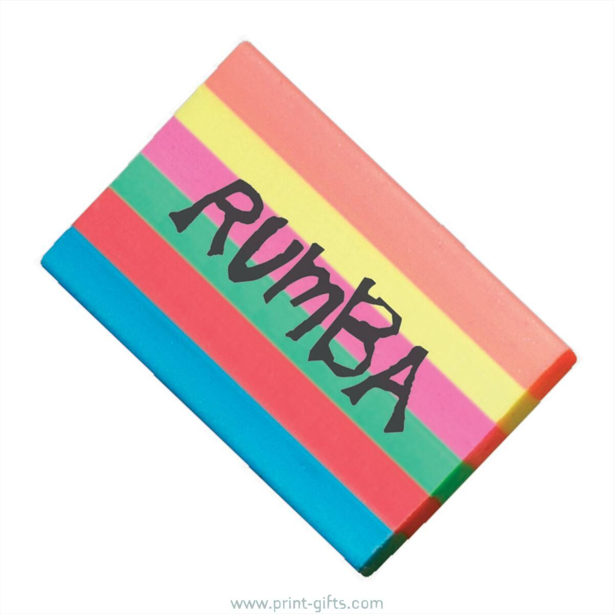 Erasers for Printing - Rainbow