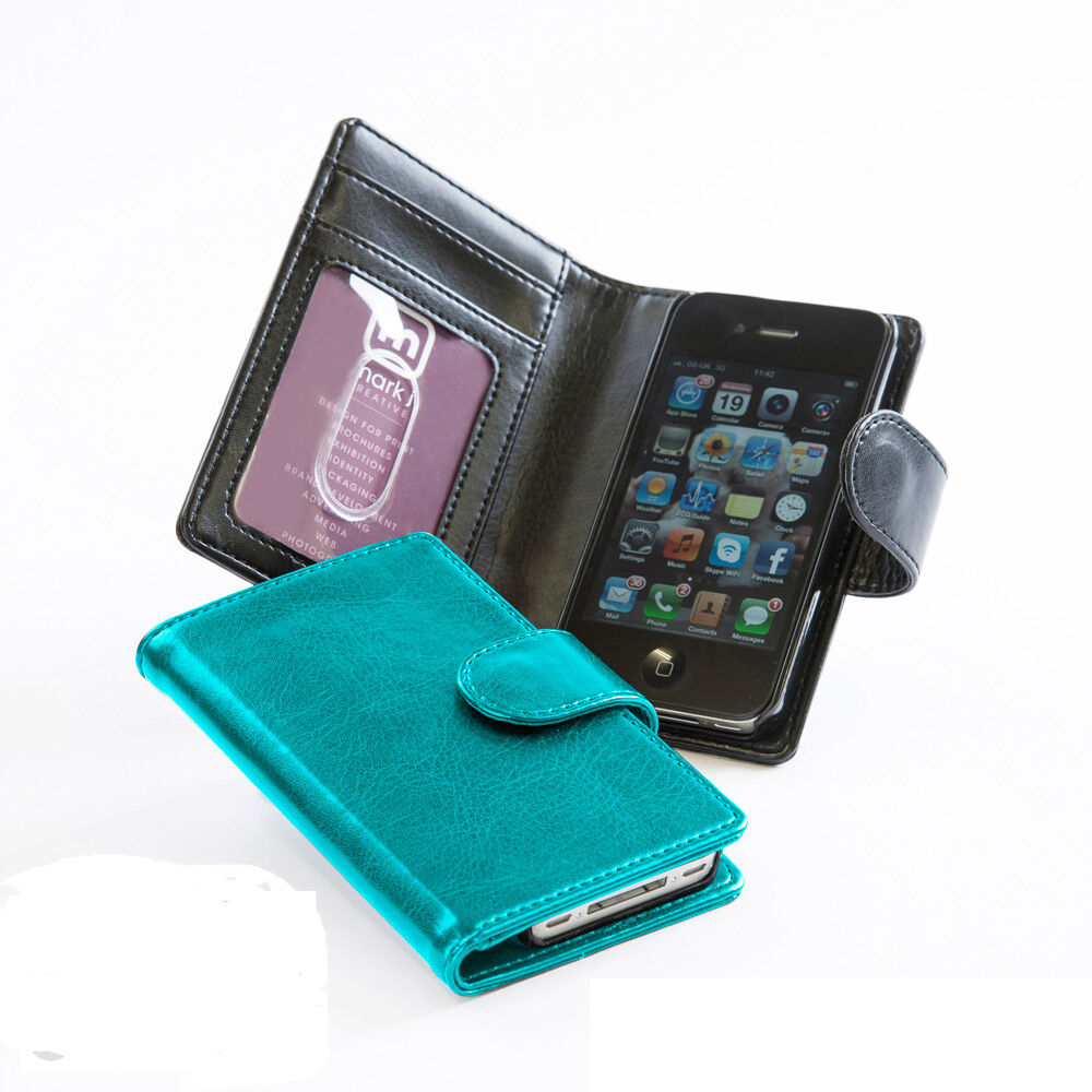 PU Leather iPhone 5 Wallet Case