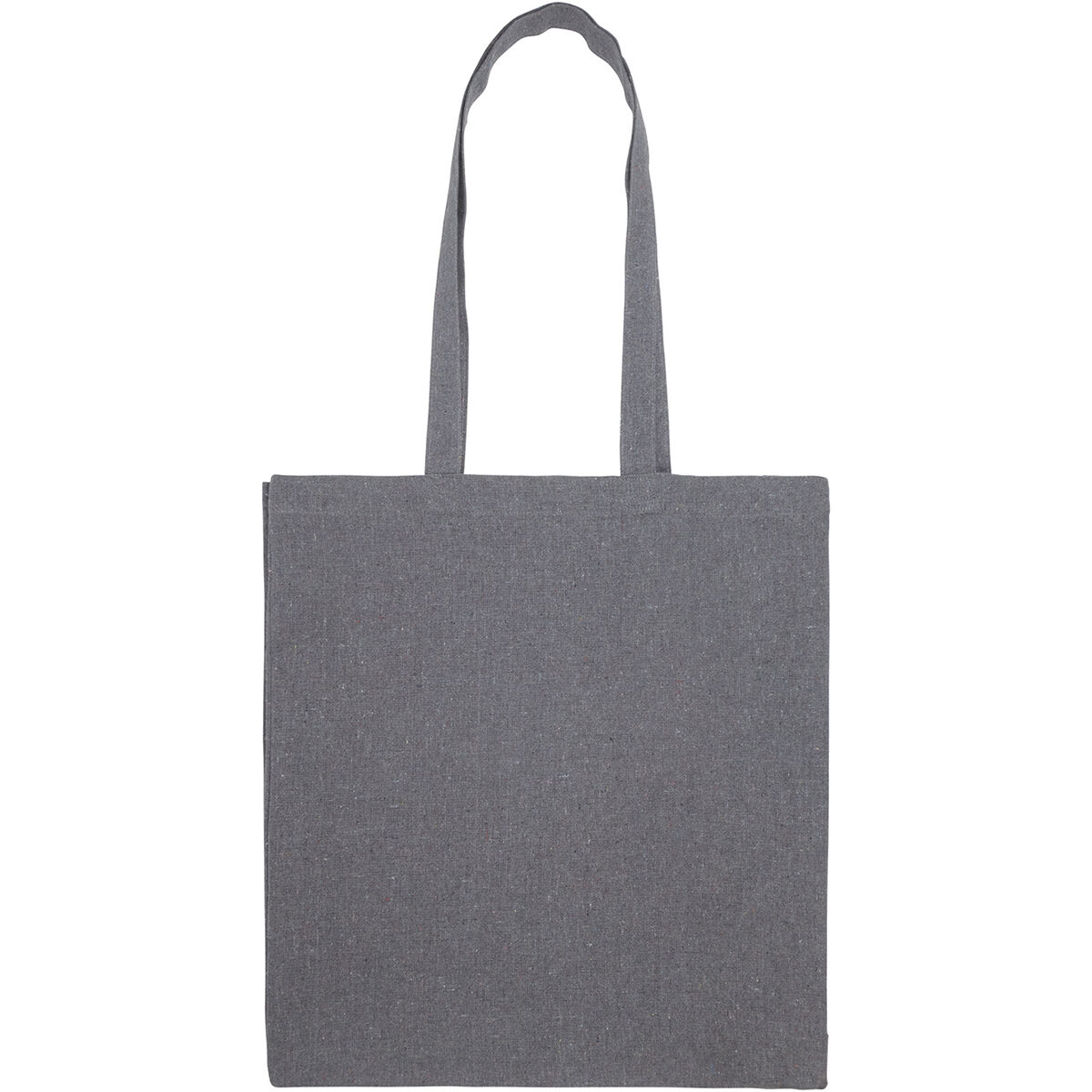 Recycled Cotton Big Tote Bag with Gusset