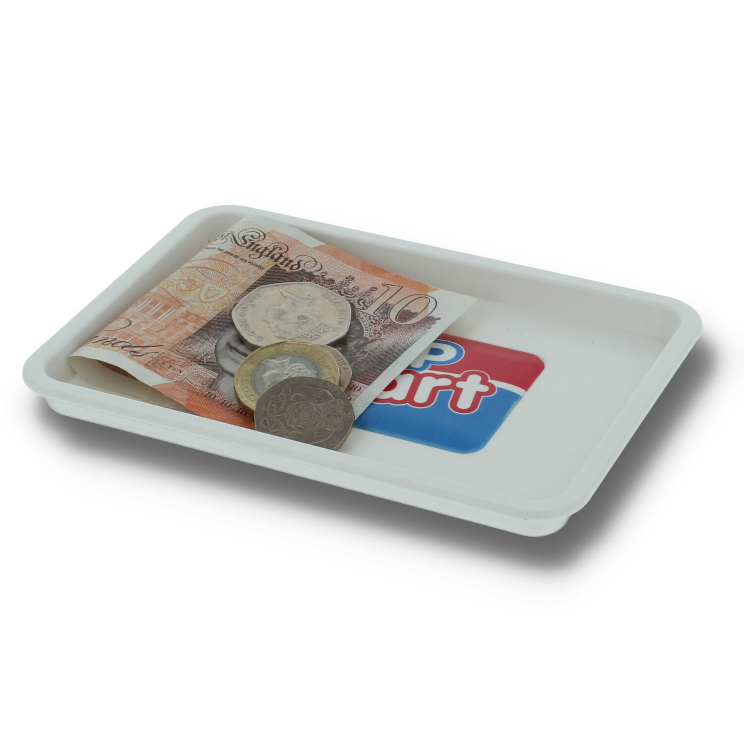 Recycled Staysafe Change Tray White