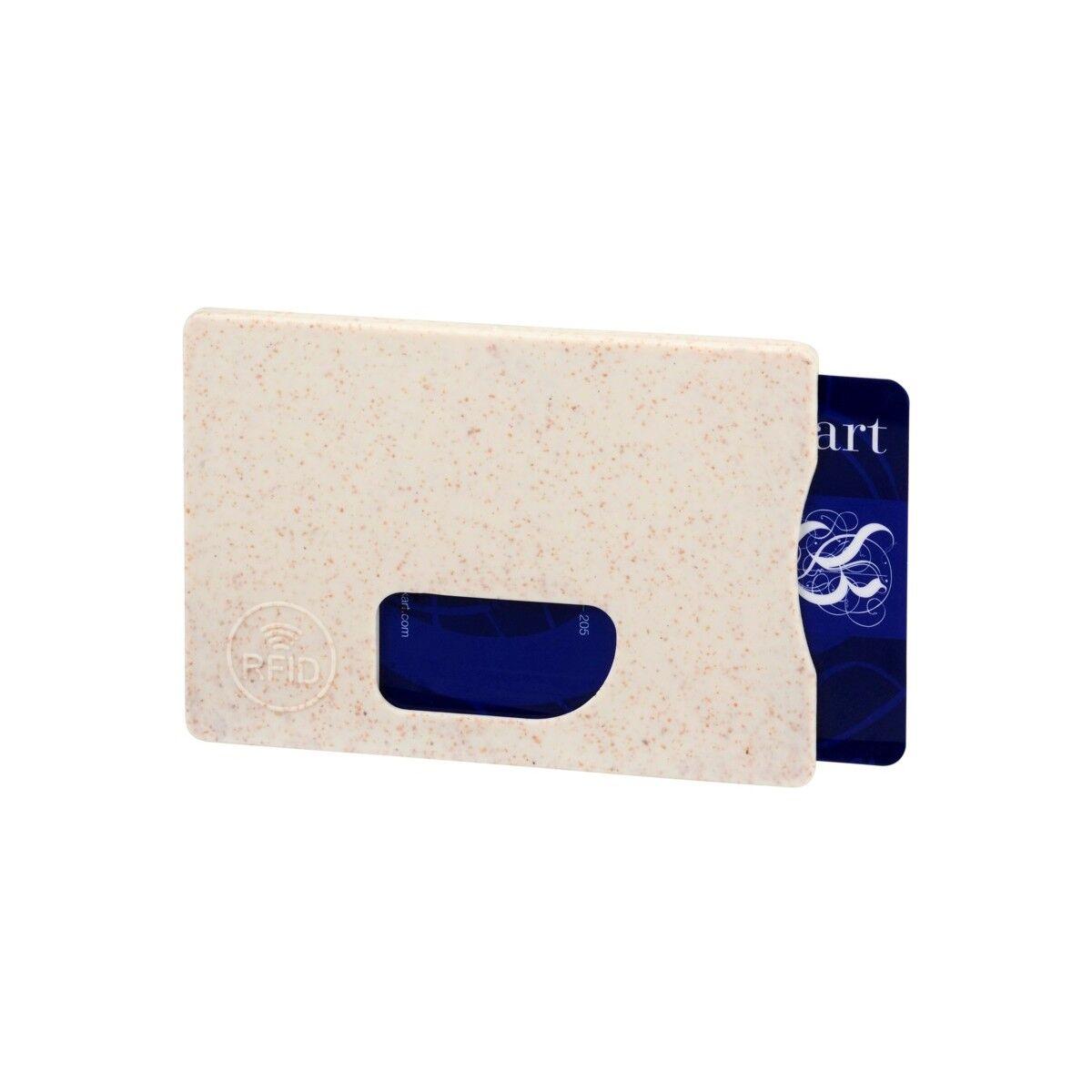 RFID Card Holder in Beige