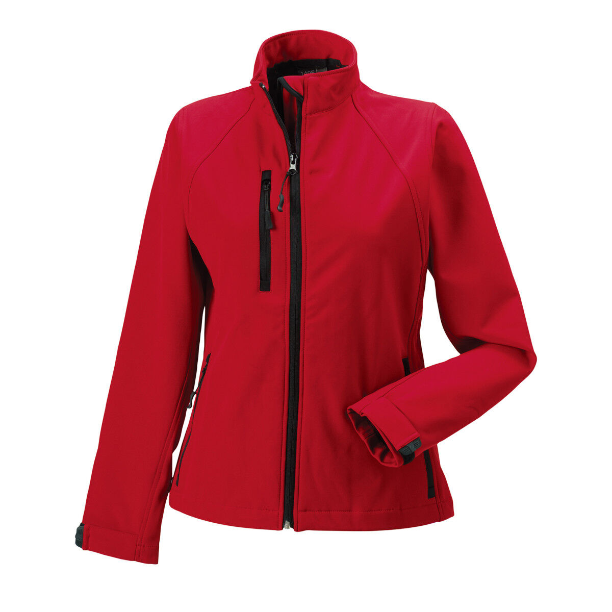 Russell Ladies Soft Shell Jacket - Classic Red