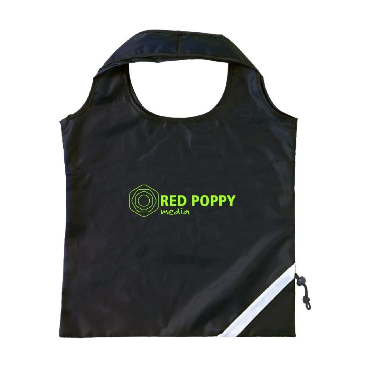 Strawberry Shaped Foldable Shoping Bag in Black