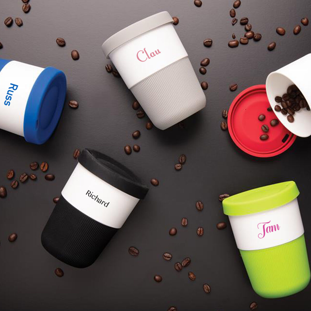 Sustainable PLA Coffee Cup Individually Personalised