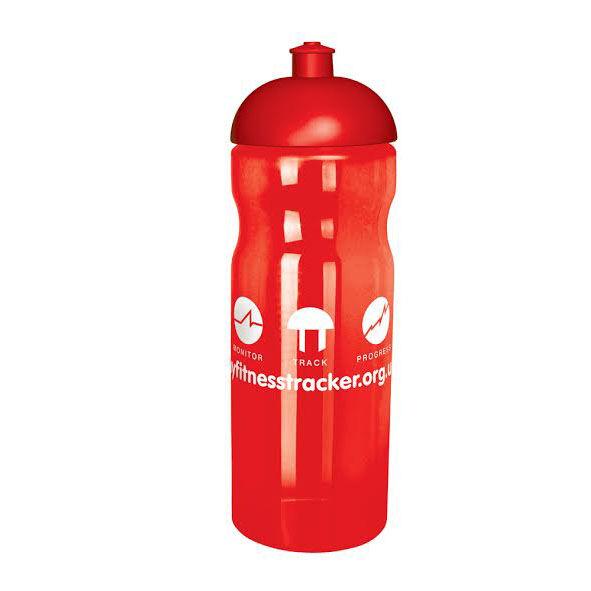 Sports Bottle Red - Domed Lid
