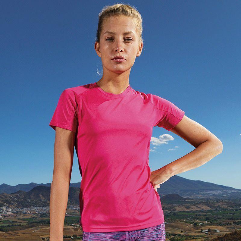 Unisex Sports TriDri T-Shirt (Hot Pink)