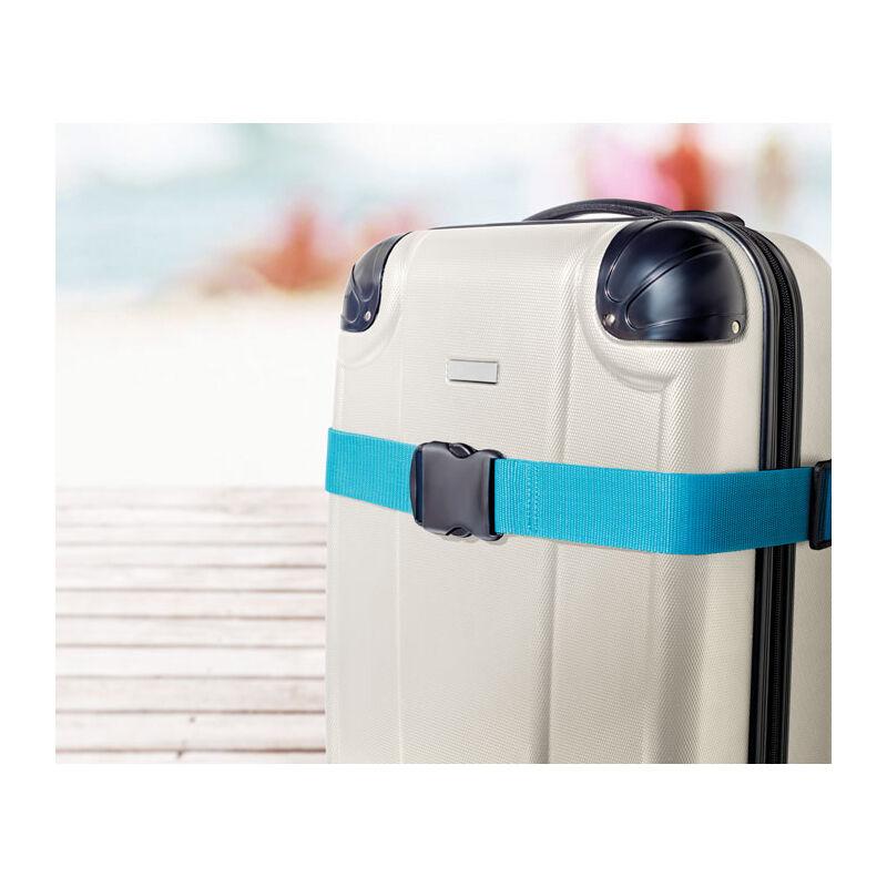 Travel Luggage Strap (Cyan Blue)