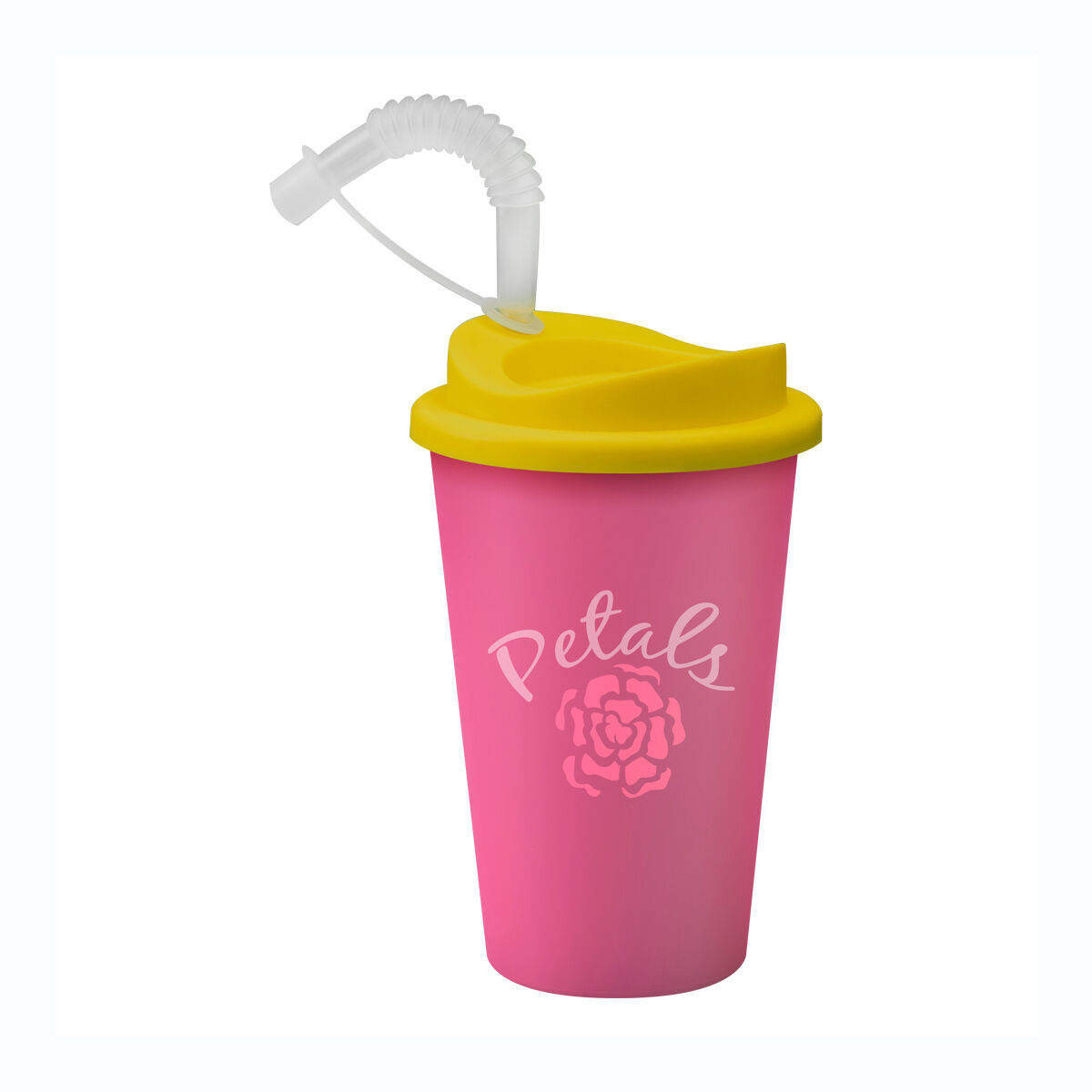 Universal Travel Mug with Straw