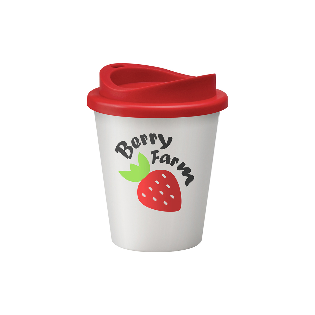 Vending Coffee Cups in White