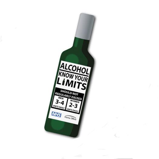 Fridge Magnet Shapes - Wine Bottle
