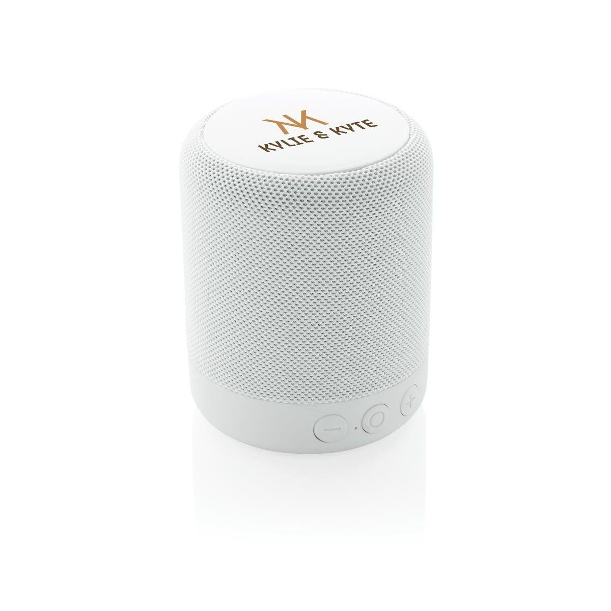 Wireless Speaker - White printed