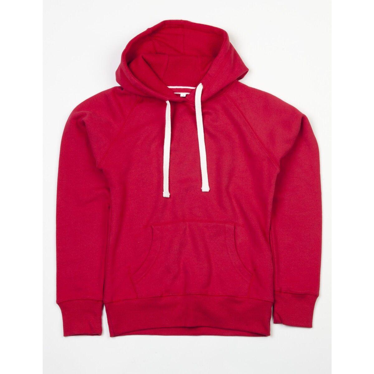 Womans Mantis Superstar Hoodie - Warm Red