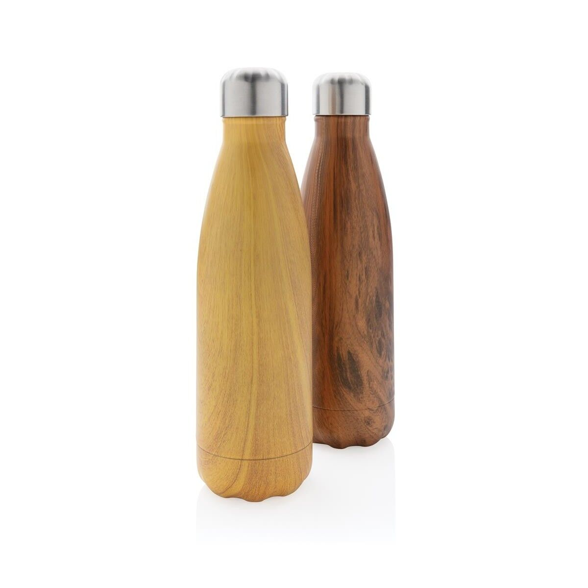 Wooden Effect Insulated Bottle