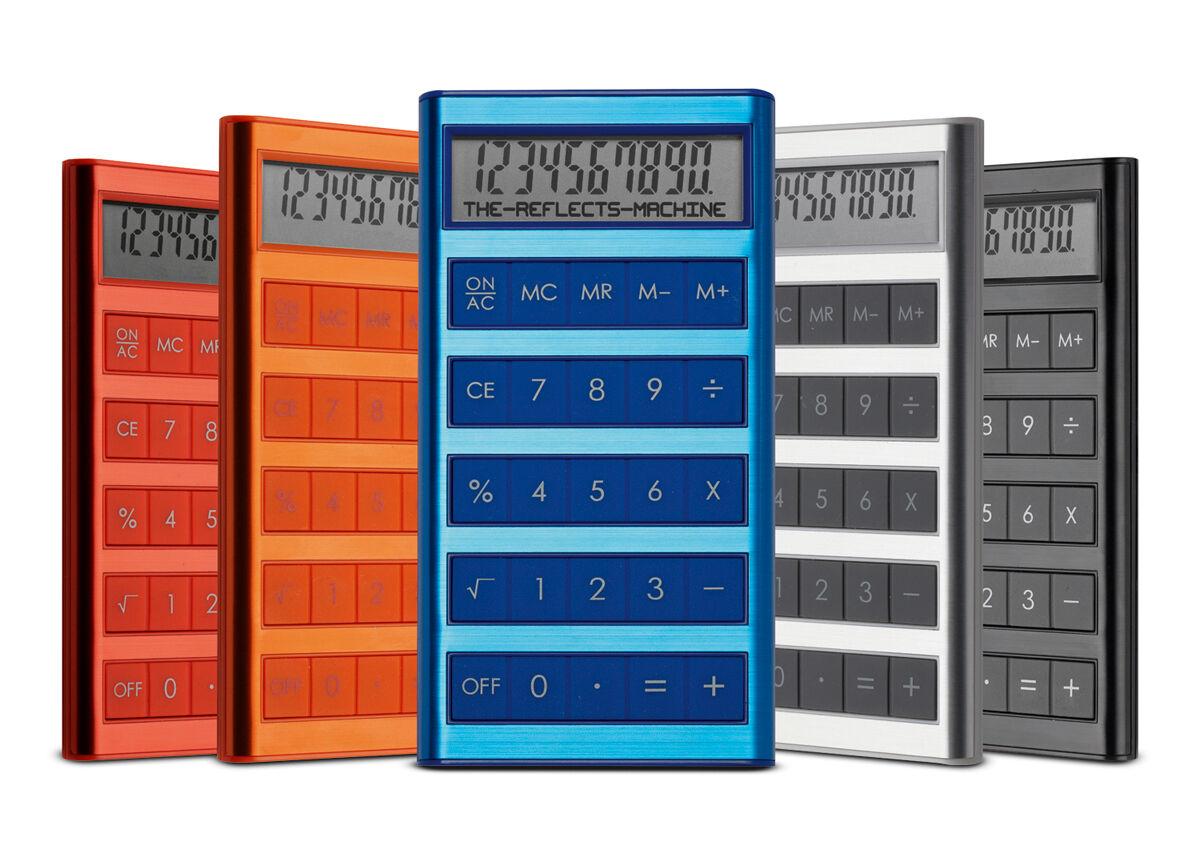 Reflects Machine Calculator - Colours