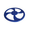 Venus Flyer Frisbees to Brand - Blue