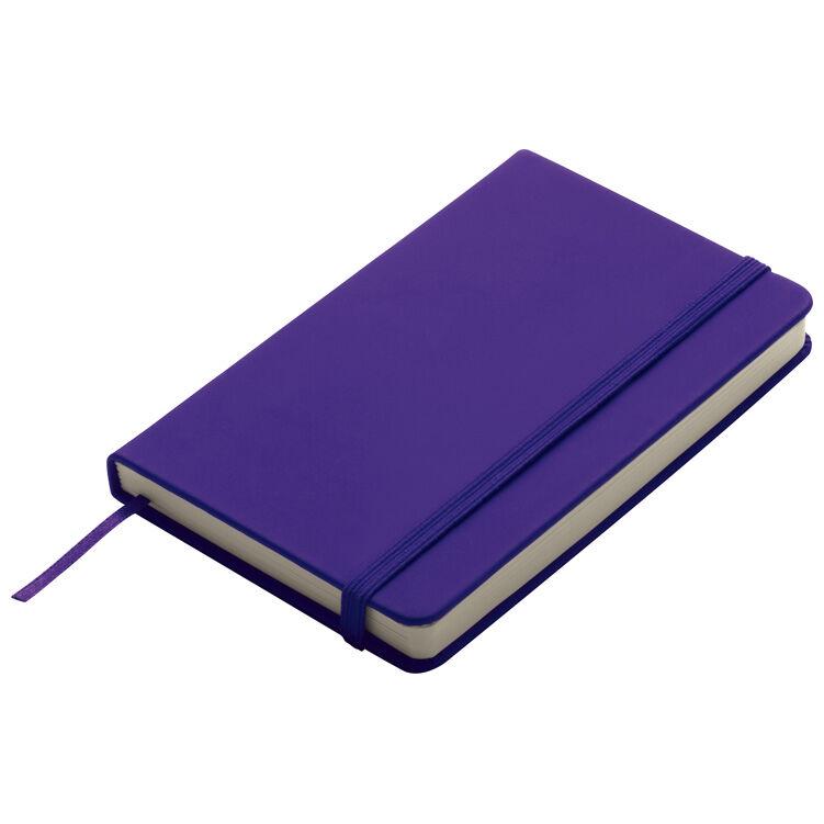 A6 Smooth PU Notebook Purple